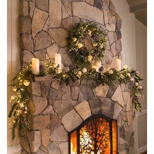 Winter Faux Holiday Garland