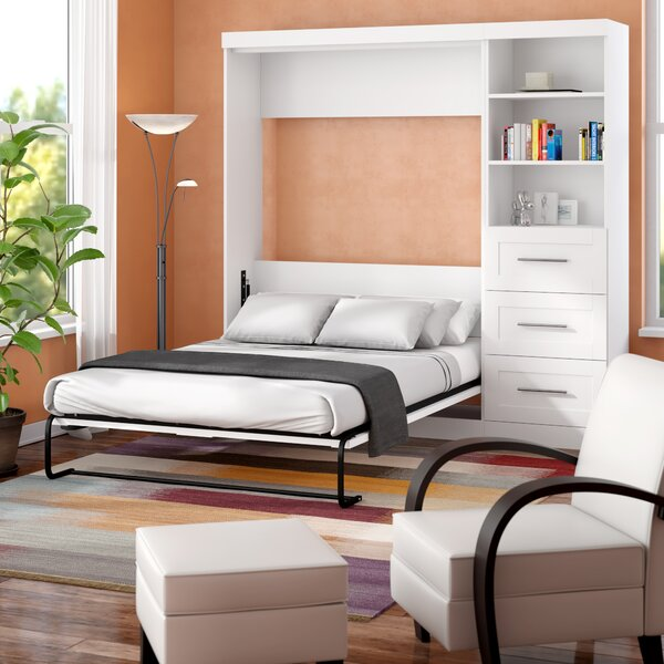 Navarro Storage Murphy Bed by Beachcrest Home
