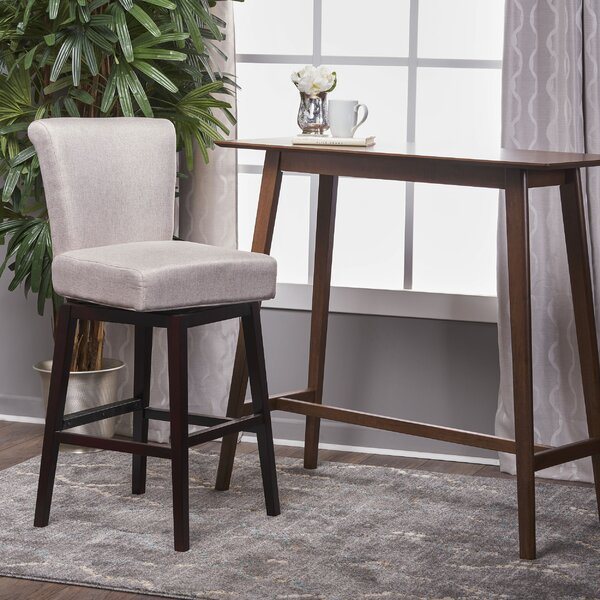 Allyssa 31.5 Swivel Bar Stool by Brayden Studio