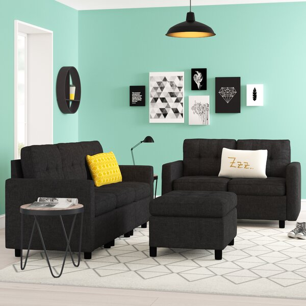 Brewer 3 Piece Living Room Set By Trule Teen Spacial Price