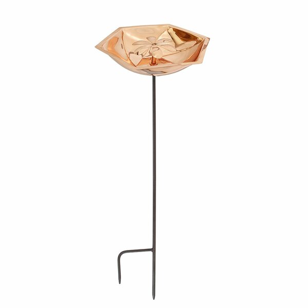 Bee Birdbath with Stake by ACHLA