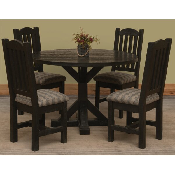 Frontier 5 Piece Dining Set by Fireside Lodge
