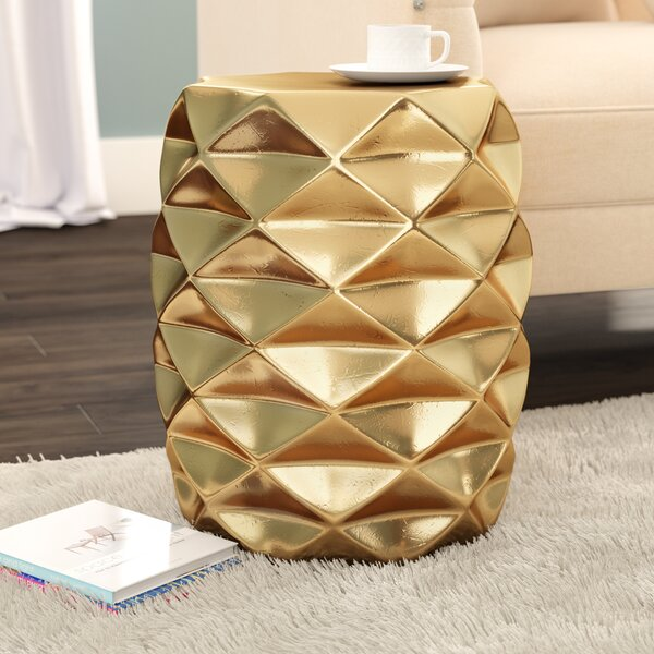 Kimpel Geometric Garden Stool by Mercer41