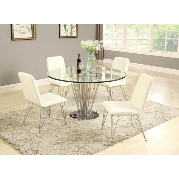 Noah 5 Piece Dining Set by Orren Ellis