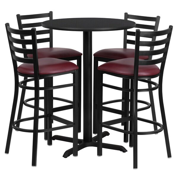 Batres 5 Piece Pub Table Set by Red Barrel Studio