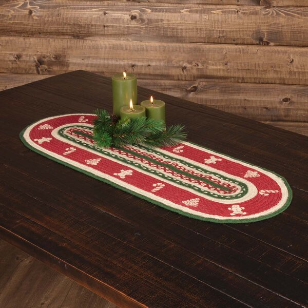 Almondsbury Christmas Cookies Table Runner by The Holiday Aisle