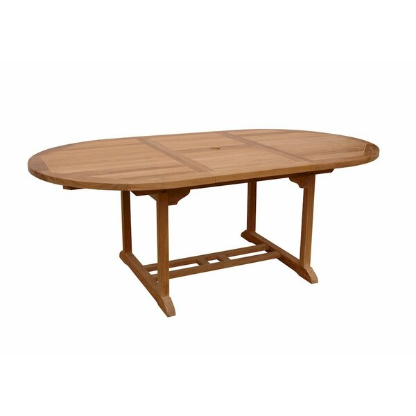 Bahama Solid Wood Dining Table by Anderson Teak