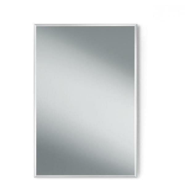 Makowski Wall Vertical/Horizontal Frameless Rectangular Bath Vanity Bedroom Mirror by Latitude Run