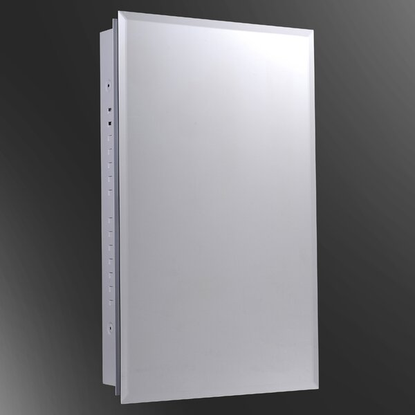 Terrence 16 x 26 Surface Mount Medicine Cabinet by Ebern Designs