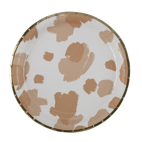 Paper Dinner Plate (Set of 8) by Plum and Punch