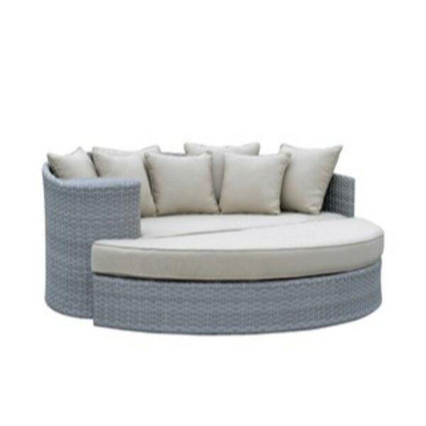 Sheetz Patio Daybed with Cushions by Ivy Bronx