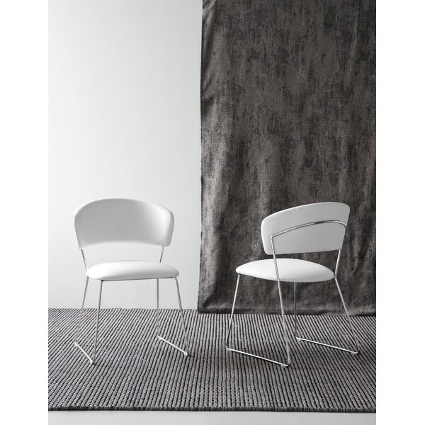 Mccoppin Upholstered Metal Side Chair By Orren Ellis