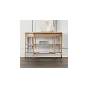 Scalloped Console Table by Hooker Furniture