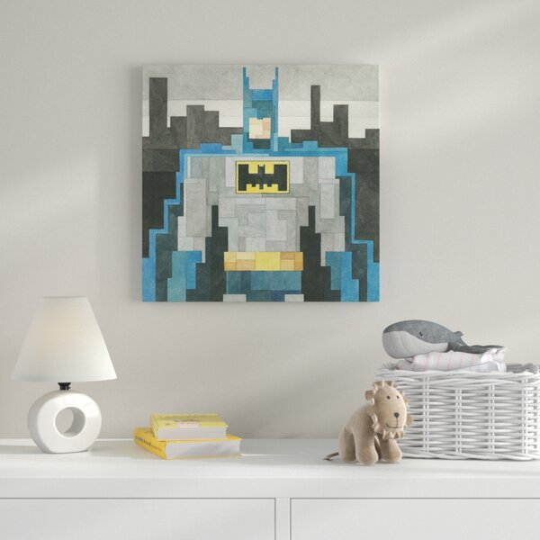 Batman Graphic Art on Wrapped Canvas by Zoomie Kids