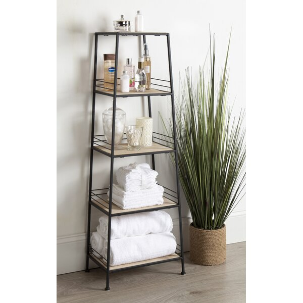 Urbane 44.5 H x 16 W 4-Tier Free-Standing Shelf Tower by Kate and Laurel