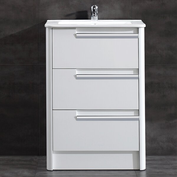 Modena 24 Single Bathroom Vanity Set by Ove Decors