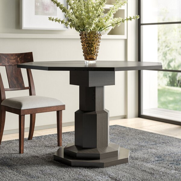 Octagon Solid Wood Dining Table by Noir