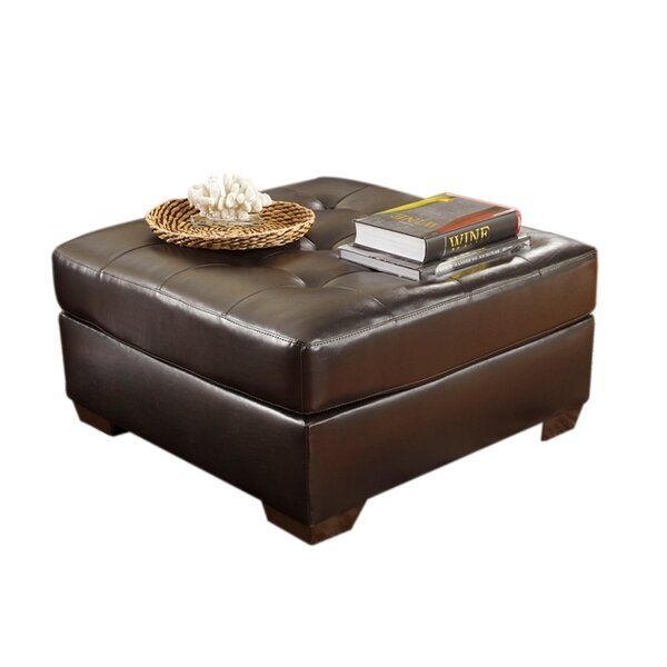 Haris Oversized Tufted Accent Ottoman by Red Barrel Studio