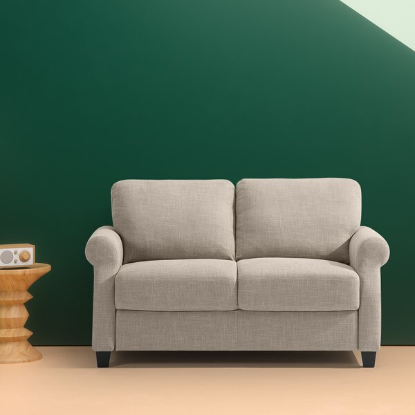 Korn Traditional Loveseat by Red Barrel Studio