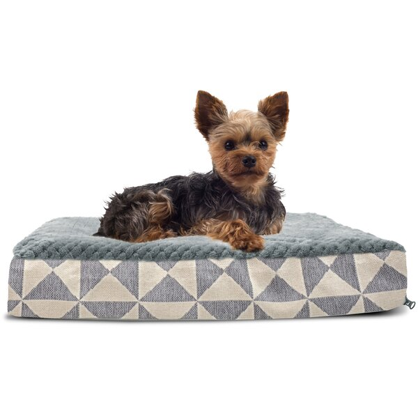 Bessie Plush Top Kilim Deluxe Orthopedic Dog Pillow by Archie & Oscar