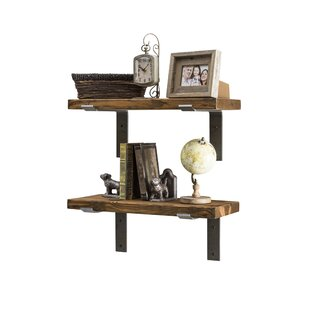 Industrial Accent Shelves (Set Of 2) By Del Hutson Designs