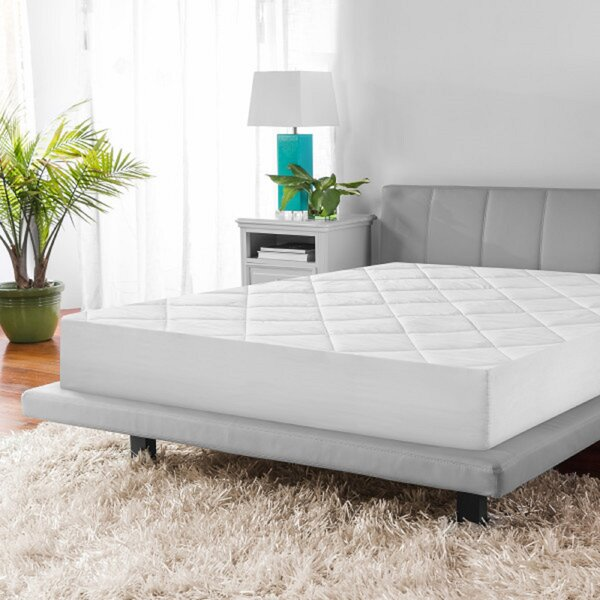 Microshield Quilted Antimicrobial Mattress Pad by BioPEDIC