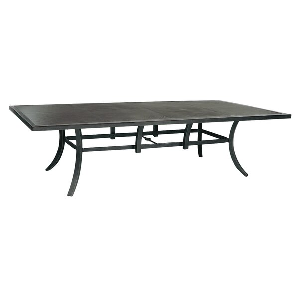 Canvas-Mitson Classical Aluminum Dining Table by Leona