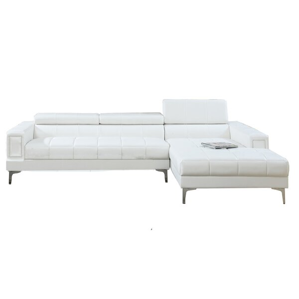 Chic Style Stapleford Right Hand Facing Sectional by Wrought Studio by Wrought Studio