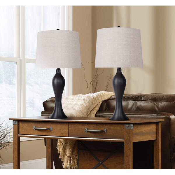 Tosha 2 Piece Table and Floor Lamp Set (Set of 2) by Winston Porter
