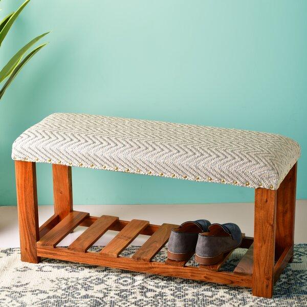 Amelie Upholstered Shoe Storage Bench
