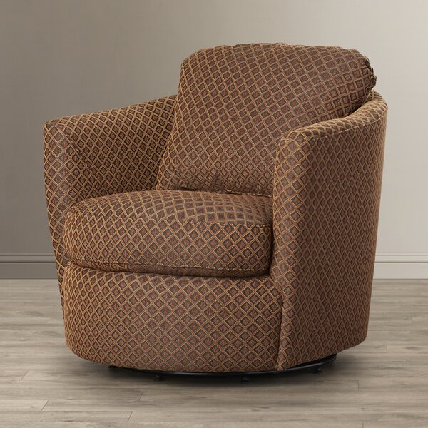 Vidrio Swivel Barrel Chair by Red Barrel Studio Red Barrel Studio