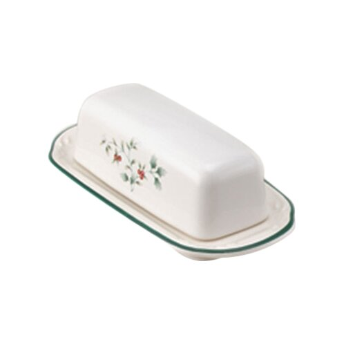 Winterberry Butter Dish by Pfaltzgraff
