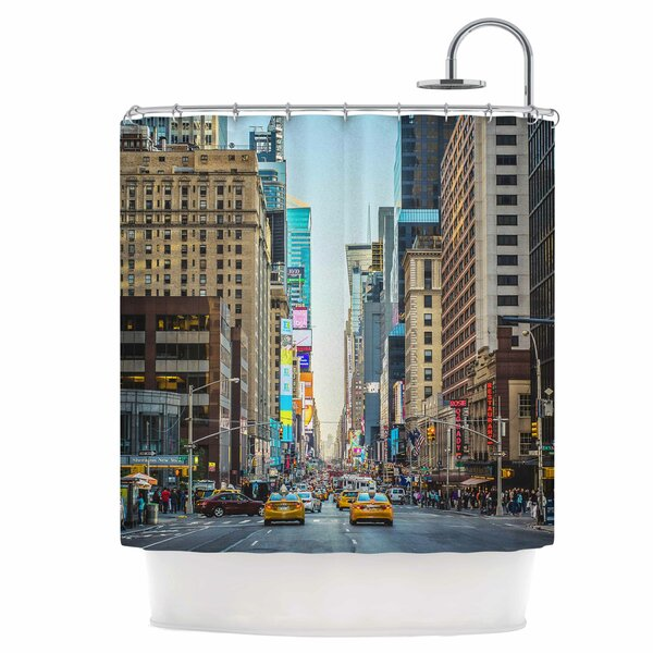 Over 7th Shower Curtain by East Urban Home