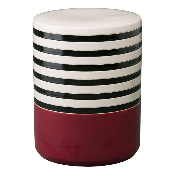 Riddick Garden Stool by Breakwater Bay