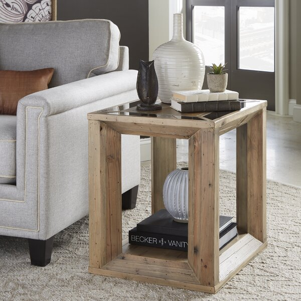Errol End Table by Millwood Pines