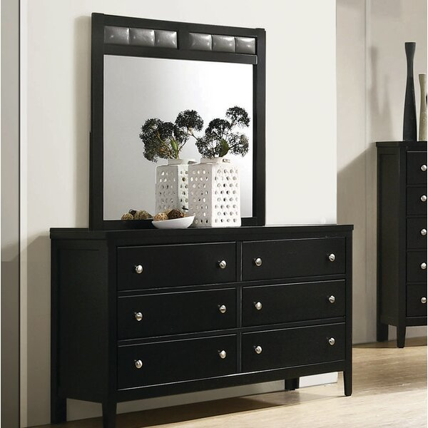 Mckown 6 Drawer Double Dresser with Mirror by Ivy Bronx