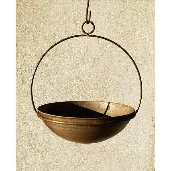 Handmade Circular Frame and Planter by Starlite Garden and Patio Torche Co.