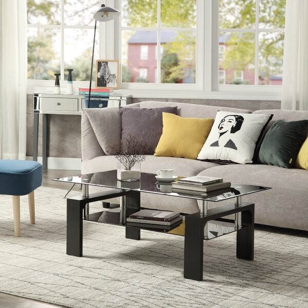 Swann Coffee Table With Storage By Symple Stuff