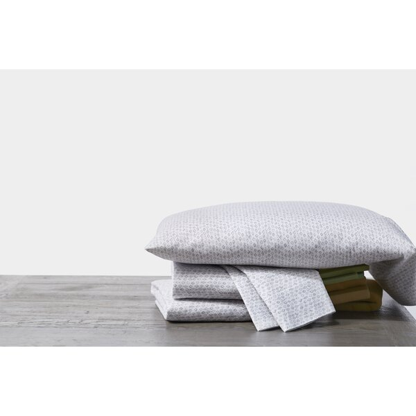 Cloud Brushed Organic Cotton Sheet Set by Coyuchi
