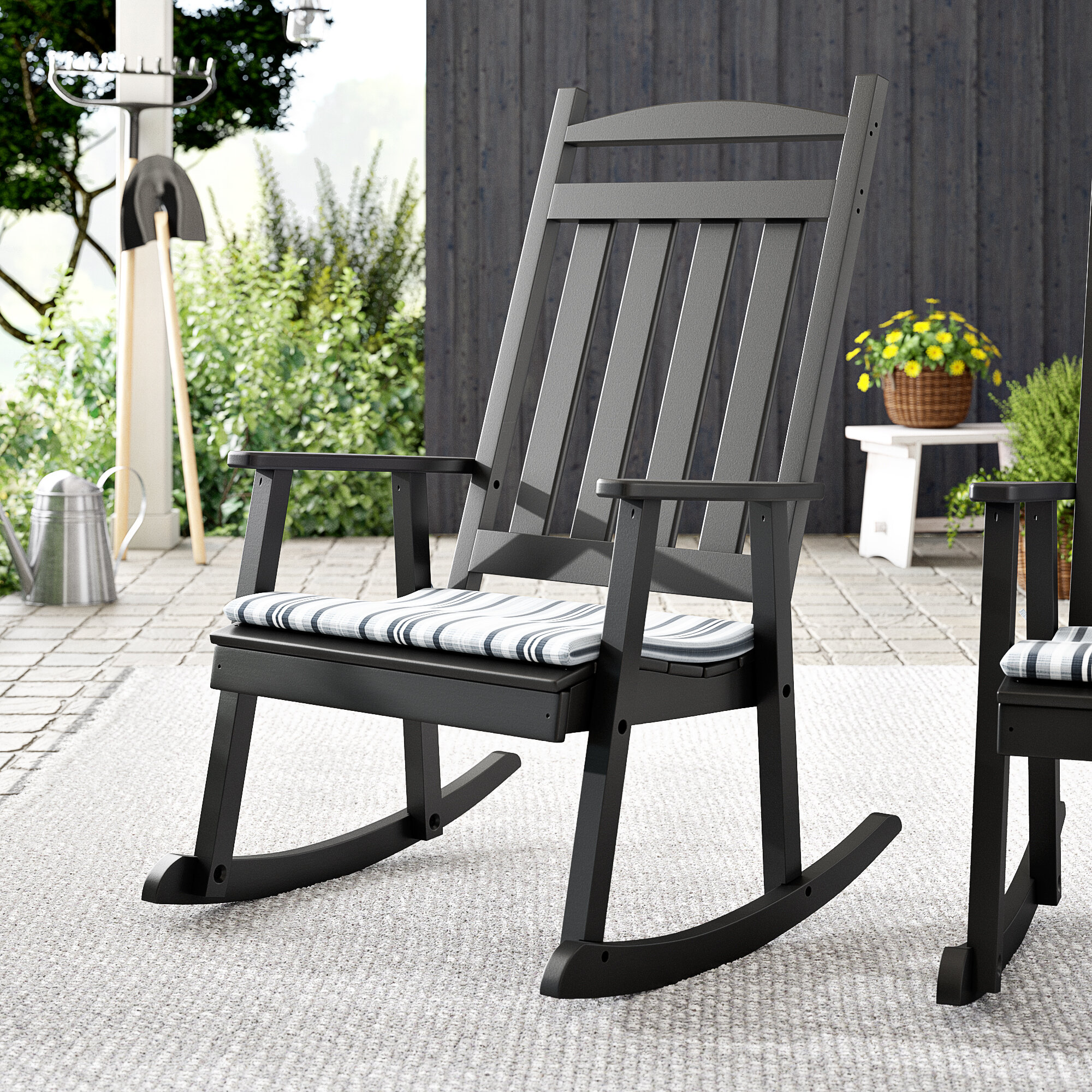 buy popular df489 038ec Gastonville Classic Porch Rocking Chair