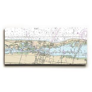 Map Of Vero Beach Florida.Longshore Tides Tapestries Ltd Map Wall Art You Ll Love Wayfair