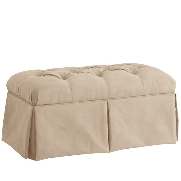 Upholstered Storage Bench by Alcott Hill