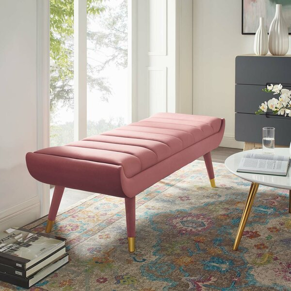 Mackay Upholstered Bench By Mercer41 by Mercer41 New Design