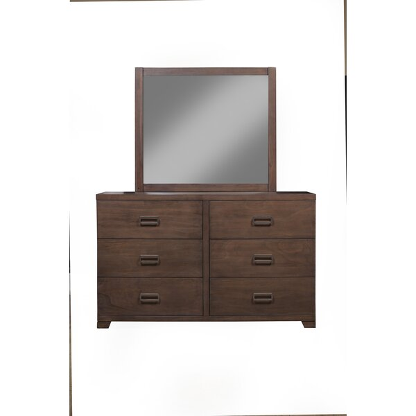 Monalisa 6 Drawer Double Dresser by Darby Home Co