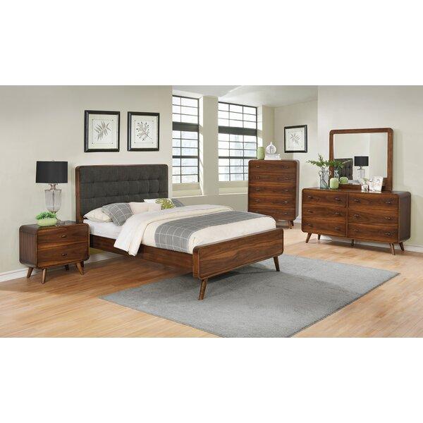 Polkville Upholstered Platform Bed by Brayden Studio