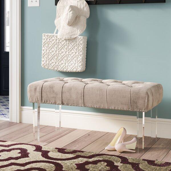Macie Upholstered Bench by Rosdorf Park