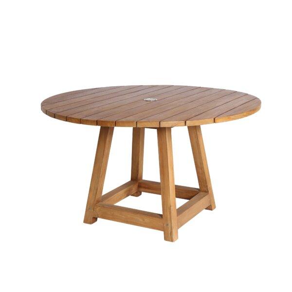 Adame Solid Wood Dining Table by Loon Peak