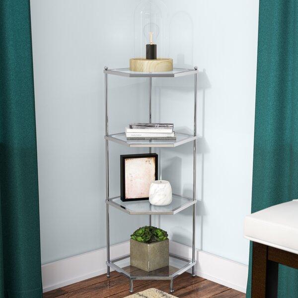 Cathleen 4 Tier Corner Bookcase By Willa Arlo Interiors