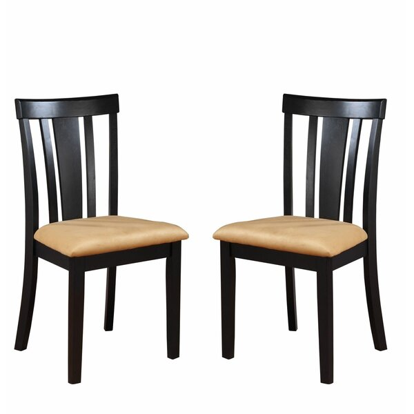 Oneill Solid Wood Side Chair (Set of 2) by Andover Mills