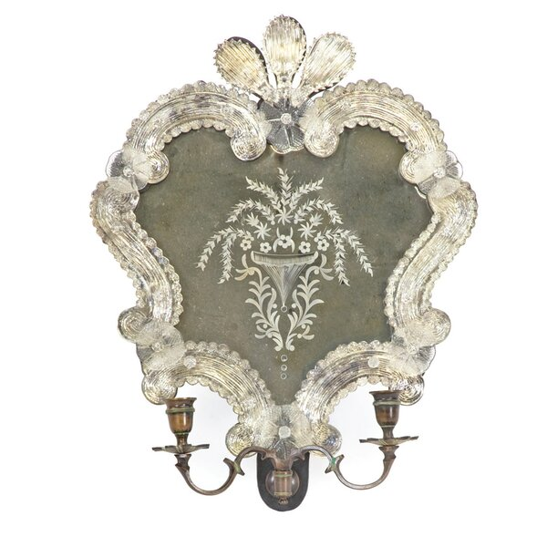 Sconce Accent Mirror by One Allium Way